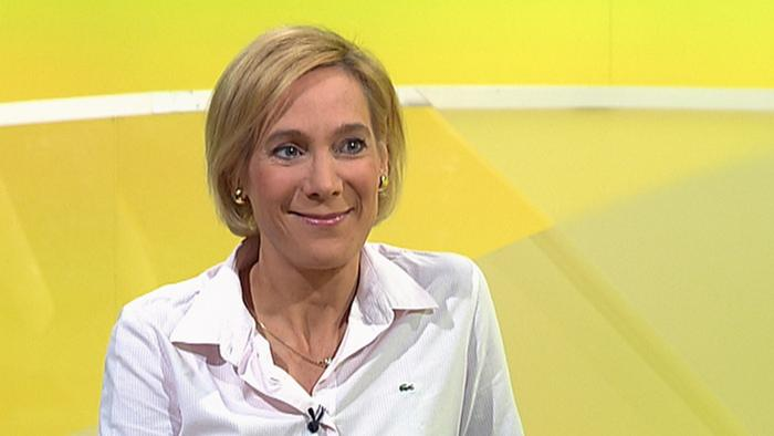 Our studio guest Dr. Tanja Fischer