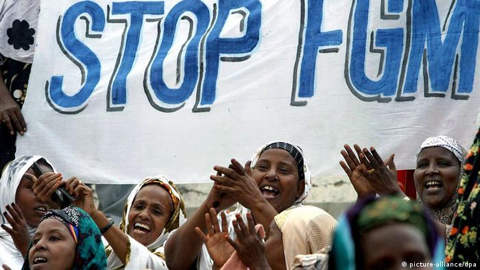 Frauenkampagne gegen Beschneidung von Mädchen in Somalia