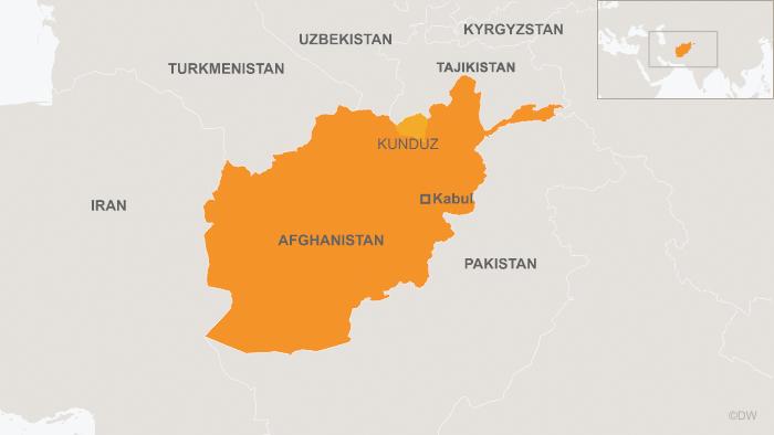 Online map Afghanistan Kunduz Englisch