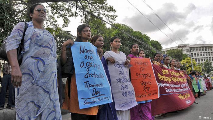 Bangladesch Demonstration gegen Tipaimukh Damm in Dhaka