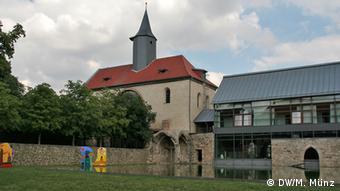 Reportage Kloster Volkenroda Klosterkirche Volkenroda, Thüringen, aufgenommen am 27. August, Fotograf: Michael Münz