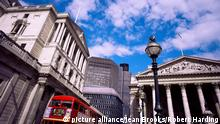 City of London Bank of England and the Royal Exchange