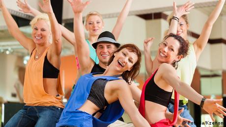 Junge Leute beim Tanz
