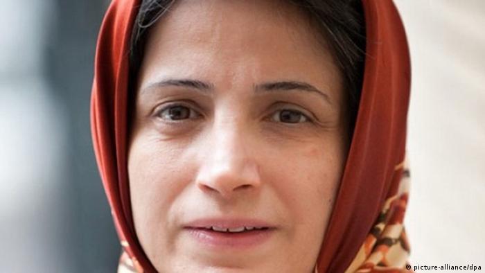 Насрин Сотуде, иранская активистка, фото 2013 года