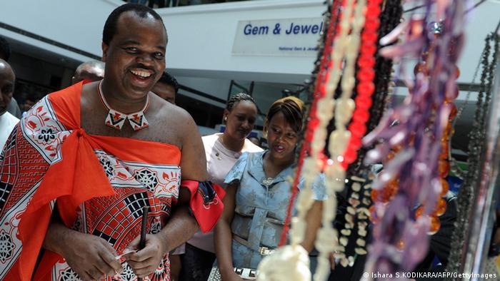 Swasiland König Mswati III