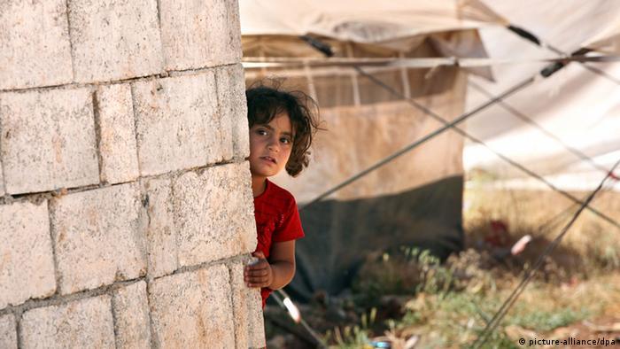 Ein Kind im Flüchtlingslager Kilis (Foto: dpa)