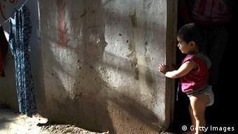 Ein syrisches Flüchtlingsmädchen (Foto: Getty Images)