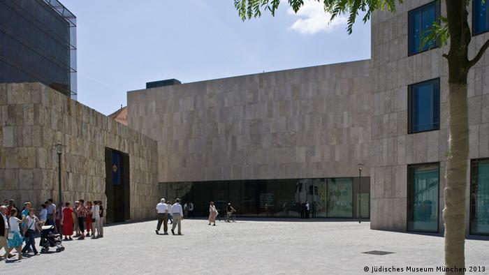 Das Jüdische Museum München von außen. - Copyright: Jüdisches Museum München 2013