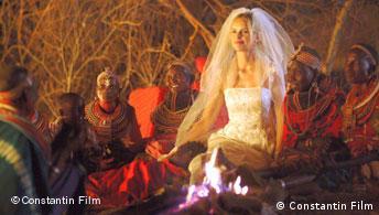 Filmszene Die Weiße Massai