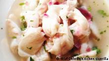 Ceviche vom Dorsch