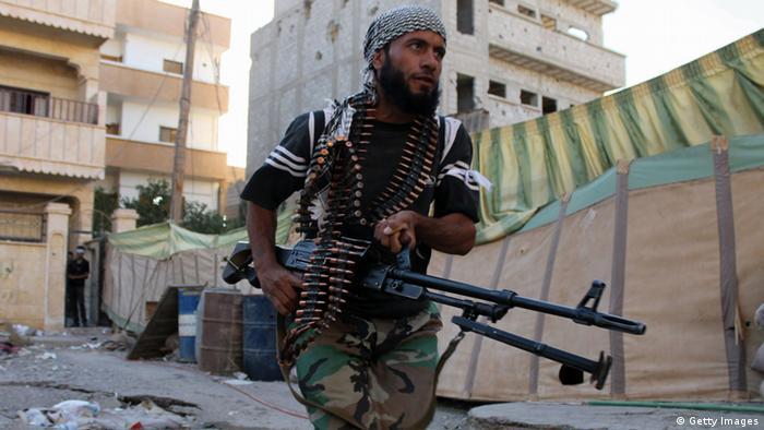 Syrien - Syrische Rebellen (Foto: ABO SHUJA/AFP/Getty Images)