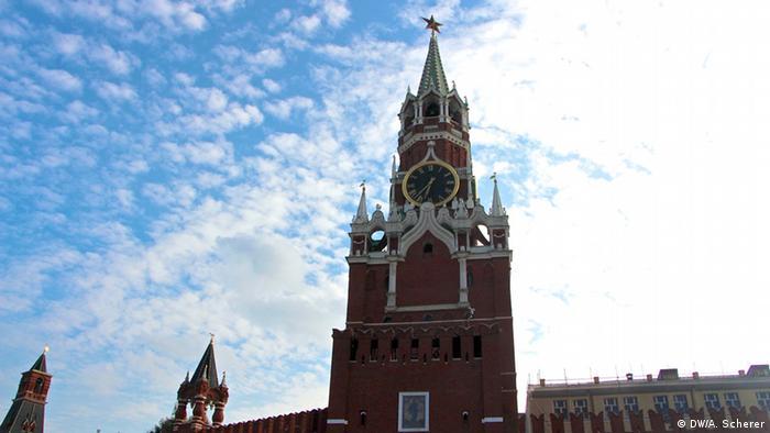 Москва, Спасская башня Кремля