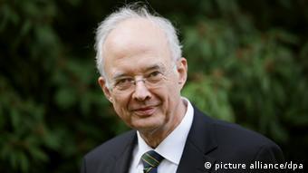 Verfassungsrechtler Paul Kirchhof, aufgenommen am 08.10.2012 in Bonn (Nordrhein-Westfalen). (Foto: Rolf Vennenbernd/dpa)