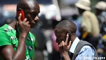 Symbolbild - Handys in Afrika