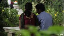 Liebespaar in Indien