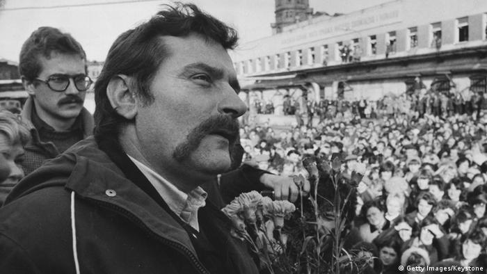 Lech Walesa - în decembrie 1981