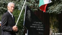 Sie zeigen Aufnahmen vom ehemaligen Kommunistenführer Todor Jivkov in Sofia, Bulgarien.
