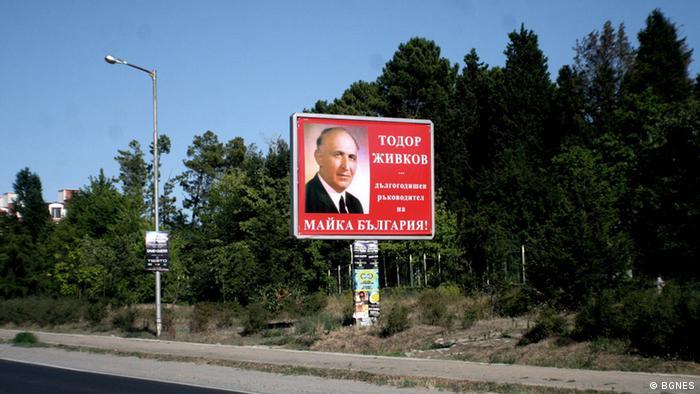Bulgarien Todor Jivkov Plakat