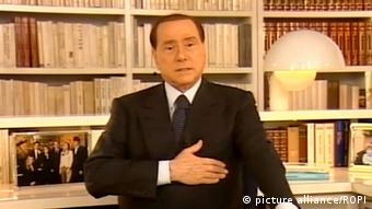 Silvio Berlusconi Video Botschaft an die Nation 18.09.2013