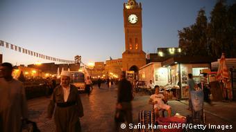 Erbil in der Abenddämmerung (Foto: Safin Hamed/AFP/Getty Images)