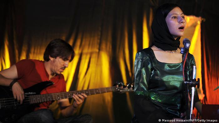 Afghanistan Sängerin Noor Jahan Akbar