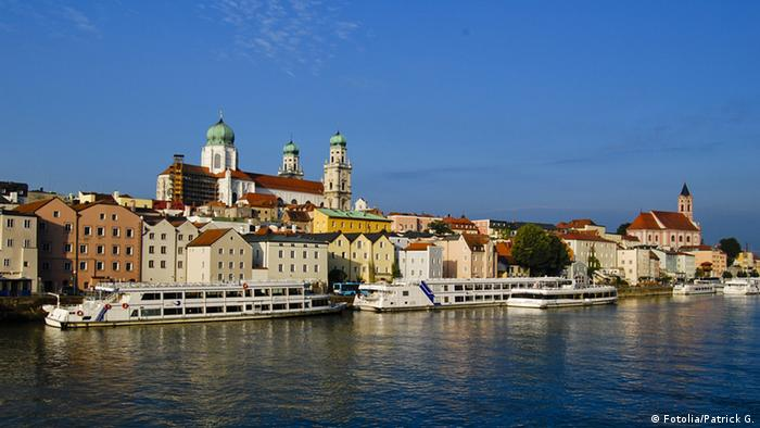 The Danube flowing through Passau (Source: Fotolia/Patrick G)