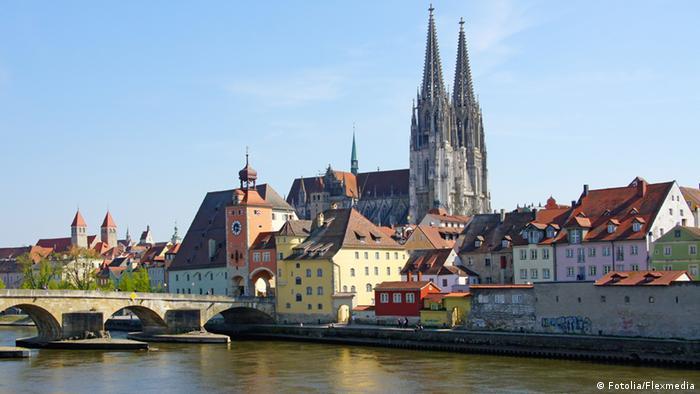 Изглед от Регенсбург