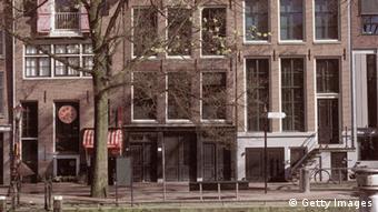 Дом в Амстердаме, где жила семья Анны Франк