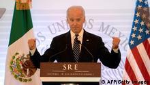 US Vizepräsident Joe Biden zu Besuch in Mexiko