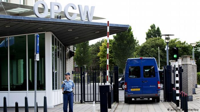 Organisation für das Verbot chemischer Waffen in Den Haag erhält erste Liste aus Syrien