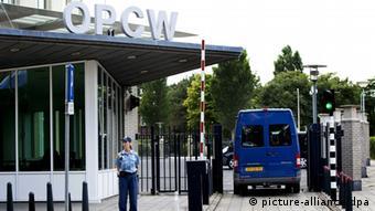 مقر منظمة حظر الأسلحة الكيميائية في لاهاي (صورة من الأرشيف)