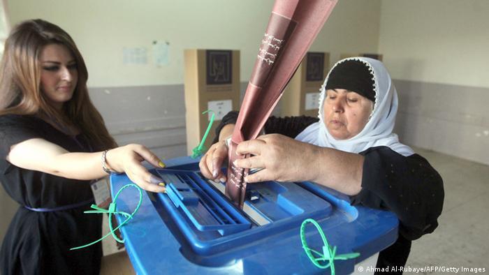 Irak Kurdistan Regionalwahlen 2013