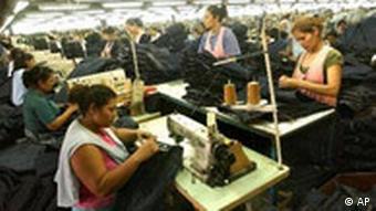 Textilfabrik in Nicaragua