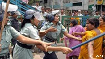 Streik in Bangladesch
