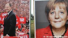 Angela Merkel Peer Steinbrück Wahlplakate