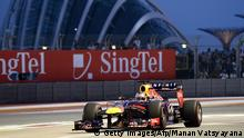 Vettel holt die Pole-Position in Singapur