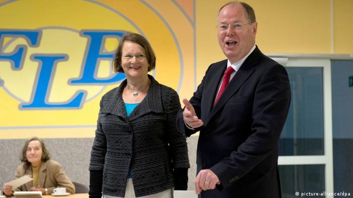 Bundestagswahl Deutschland 22.09.2013 Peer Steinbrück SPD