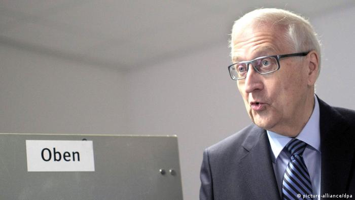 Bundestagswahl Deutschland 22.09.2013 Wahllokal FDP Brüderle