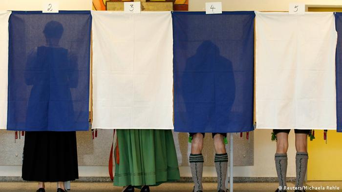 Избиратели в Баварии