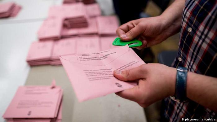 Aşa arată buletinele de vot prin corespodenţă în Germania