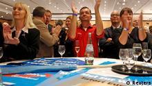 Bundestagswahl Reaktion Anhänger Alternative für Deutschland AfD