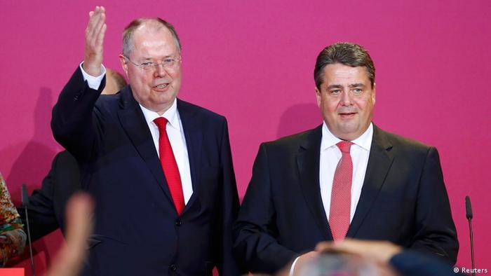 Пер Штайнбрюк (слева)