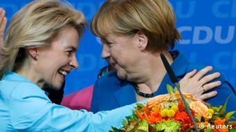 Урсула фон дер Ляєн - друга за популярністю після Анґели Меркель у партії ХДС