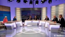 Spitzenkandidaten TV-Debatte nach Bundestagswahl 2013