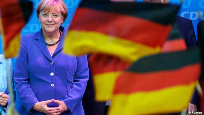 Alemães consagram Merkel nas urnas
