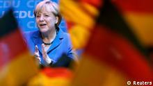 Bundestagswahl Reaktion Angela Merkel CDU