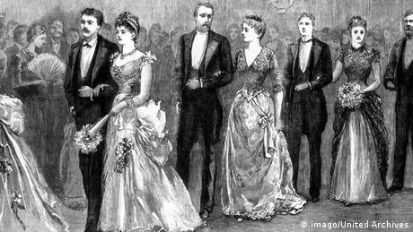 Erster Schönheitswettbewerb in Europa 1888 in Spa