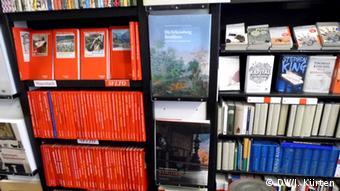 Blick in die Kölner Buchhandlung Bittner (Foto: DW/Jochen Kürten)