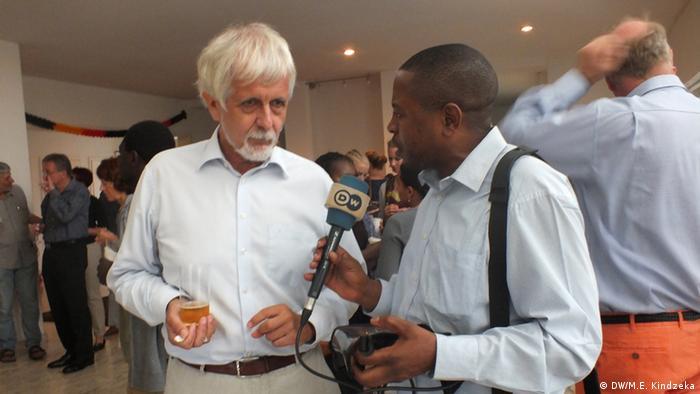 Klaus Ludwig Keferstein, German ambassador to Cameroon Photo:Moki Edwin Kindzeka(DW correspondent)