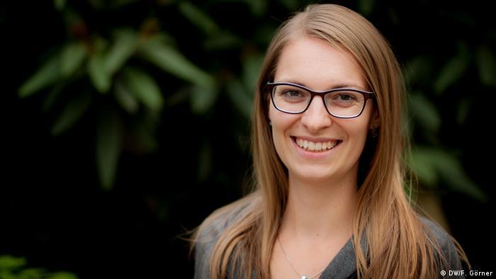 Deutschlernerin Katerina aus Tschechien